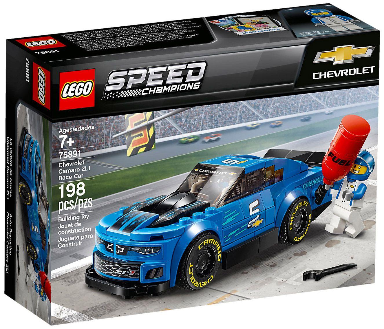 Lego Speed Champions 75891 La Voiture De Course Chevrolet Camaro Zl1