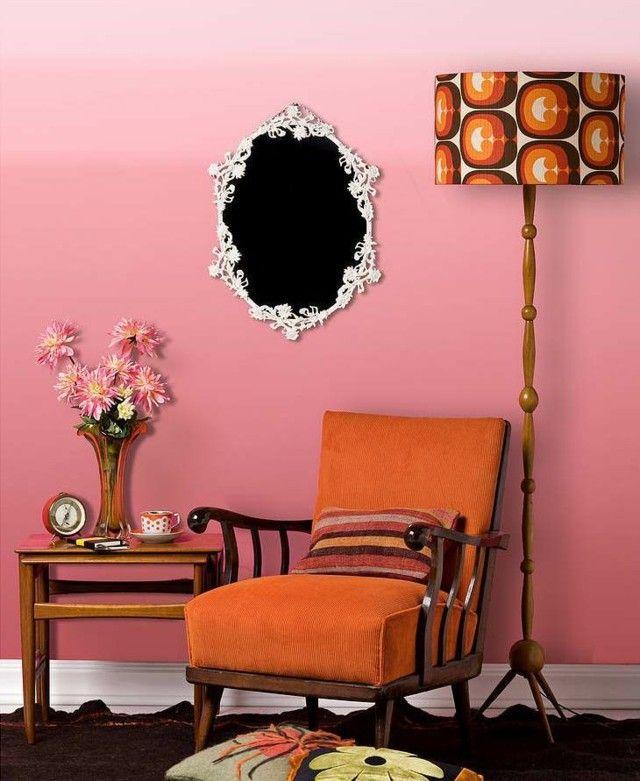 Wohnzimmer Wand Streichen Gestaltung Ideen
