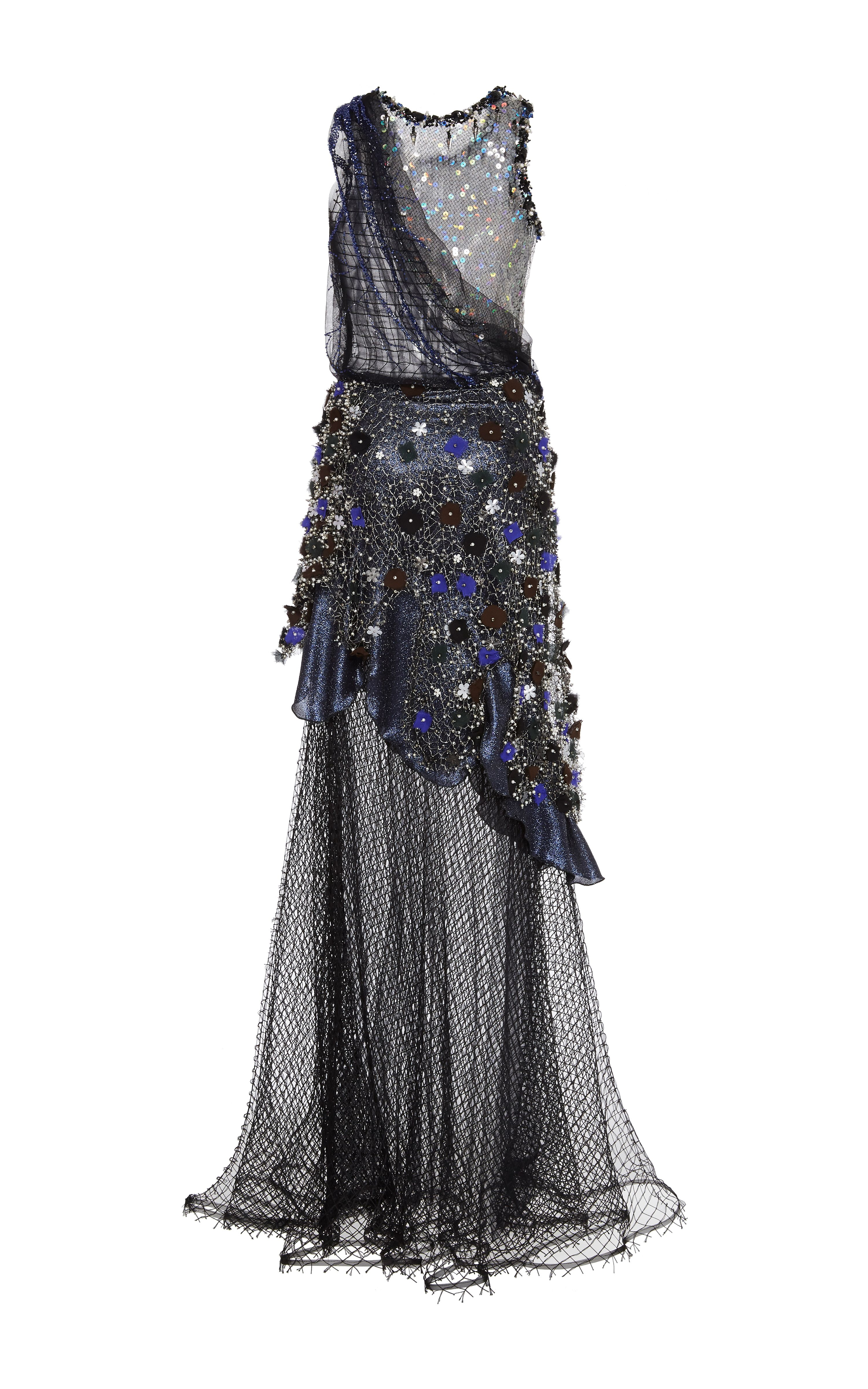 429a5235837 Embroidered Pearl And Beaded Net Gown With Iridescent Sequins And Swarovski  Crystals by Rodarte for Preorder on Moda Operandi jaglady
