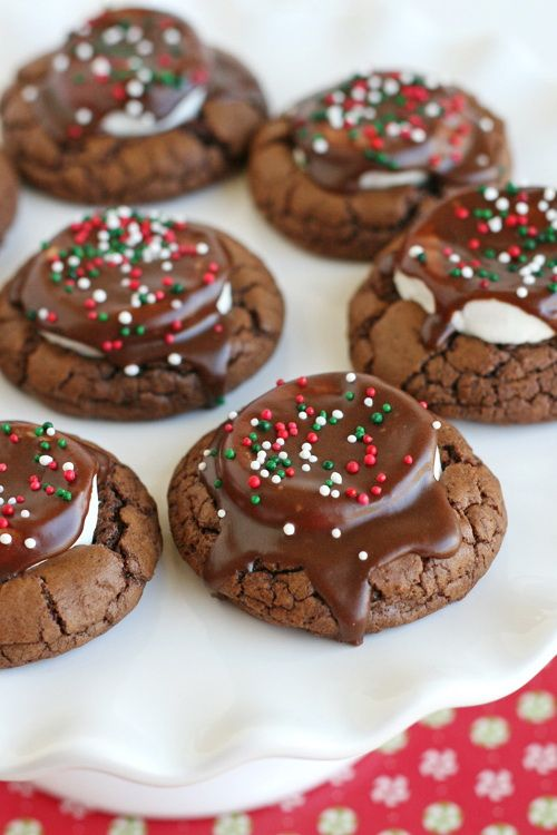 Hot Chocolate Cookies Best Fast Healthy Cheap Christmas Party