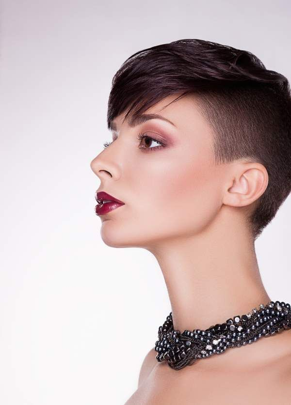 very short haircut with bangs for women | Women Hairstyles Ideas ...