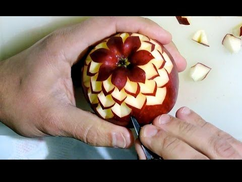 Simple Carving an Apple By J.Pereira Art Carving Fruits ...