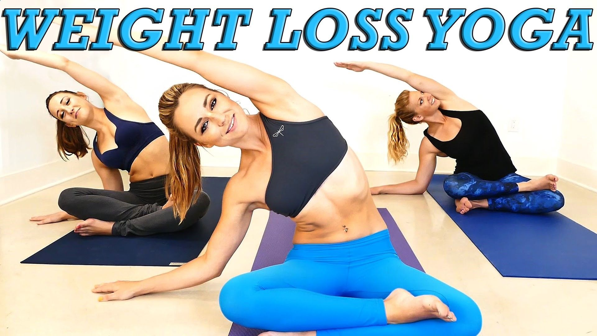 Yoga Weight Loss Challenge! 20 Minute Fat Burning Yoga Workout Beginners...