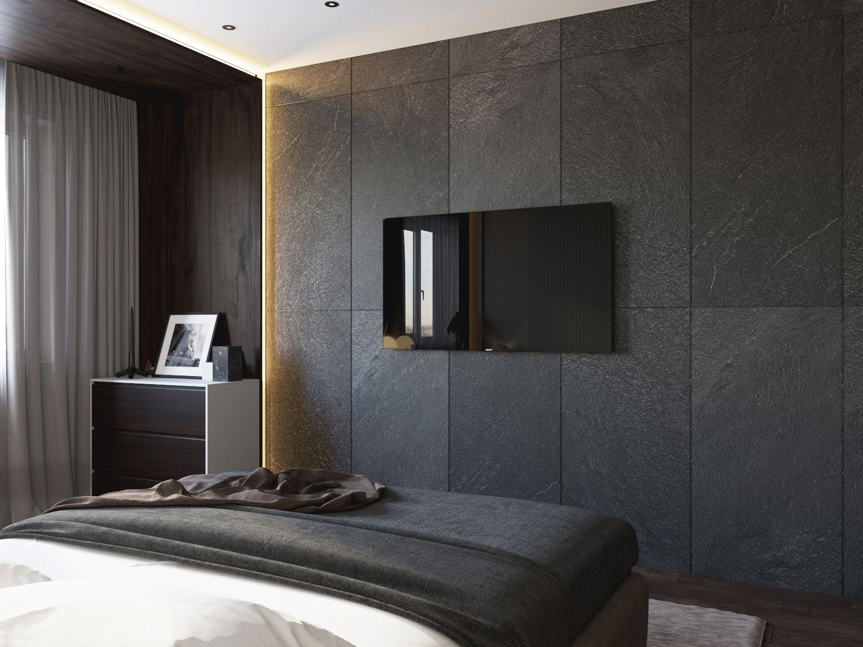 Modern Interior Bedroom On Behance