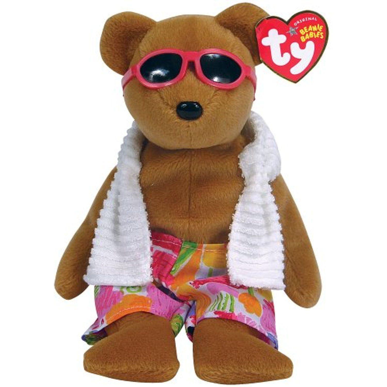 bedadc12a7e 2000 Signature Bear Beanie Baby Value - Parchment N Lead