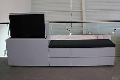 Tv Kast Interlubke.Interlubke Cube Sitzbank Mit Tv Lift Tv Unit Cabinet Tvs