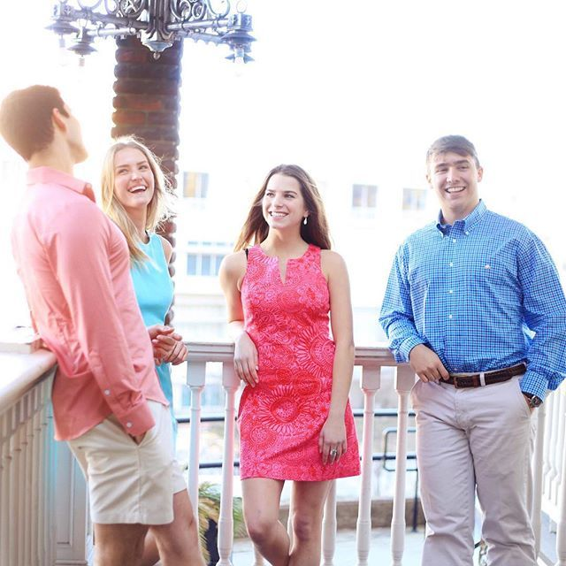Stand out at any and every soiree this spring with your preppy posse. Don these looks looks from #SouthernTide, #MizzenandMain, and #CottonBrothers - We guarantee you will be the best looking preps all season long. Link in bio.  #Preppy #Spring #NewArriva