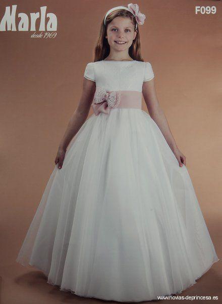 novias de princesa: todos los vestidos de comunión para niña