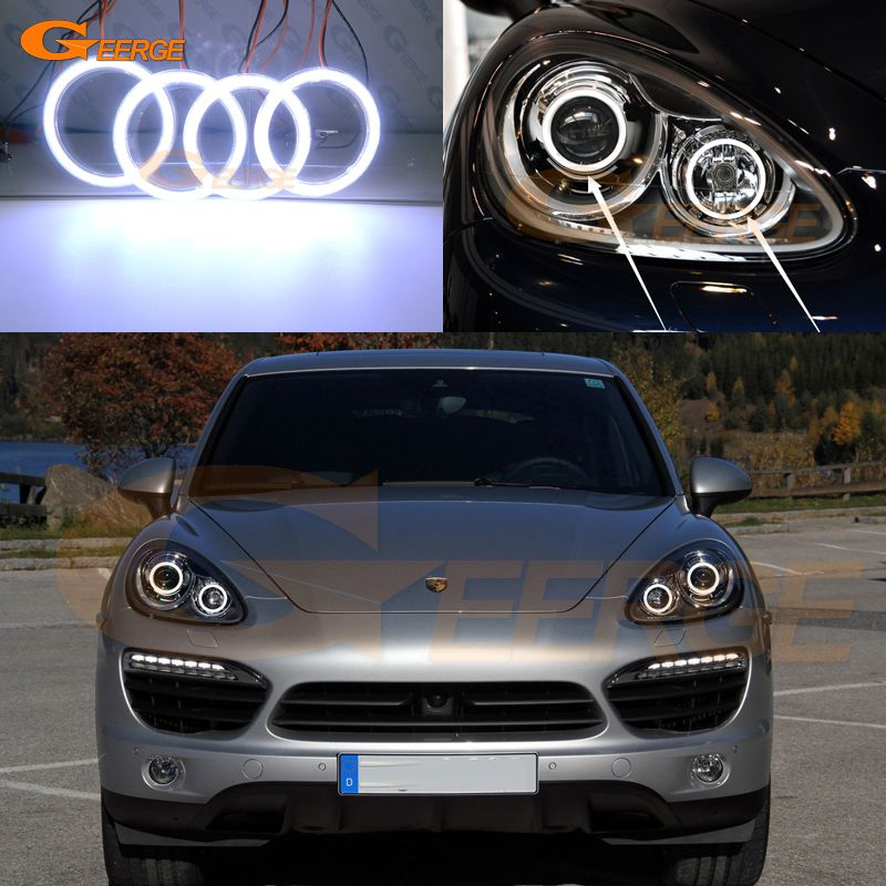 Cheap Car Light Assembly Buy Directly From China Suppliers For Porsche Cayenne 958 2011 2012 2013 2014 Excellent Ult Porsche Cayenne Car Lights Led Angel Eyes
