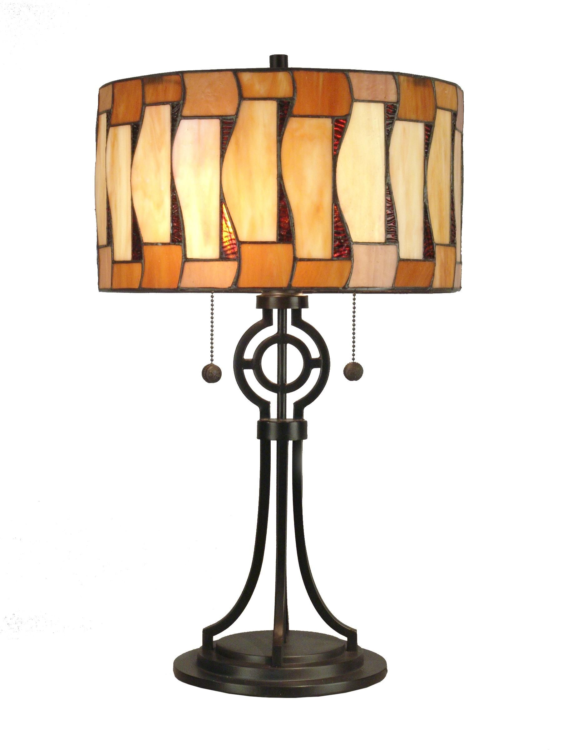 Tiffany lamp Art glass table lamp, Stained glass lamps
