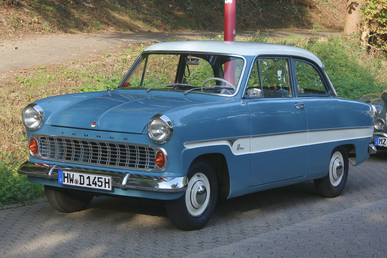 1959 1962 Ford Taunus 12m Streifentaunus Auto