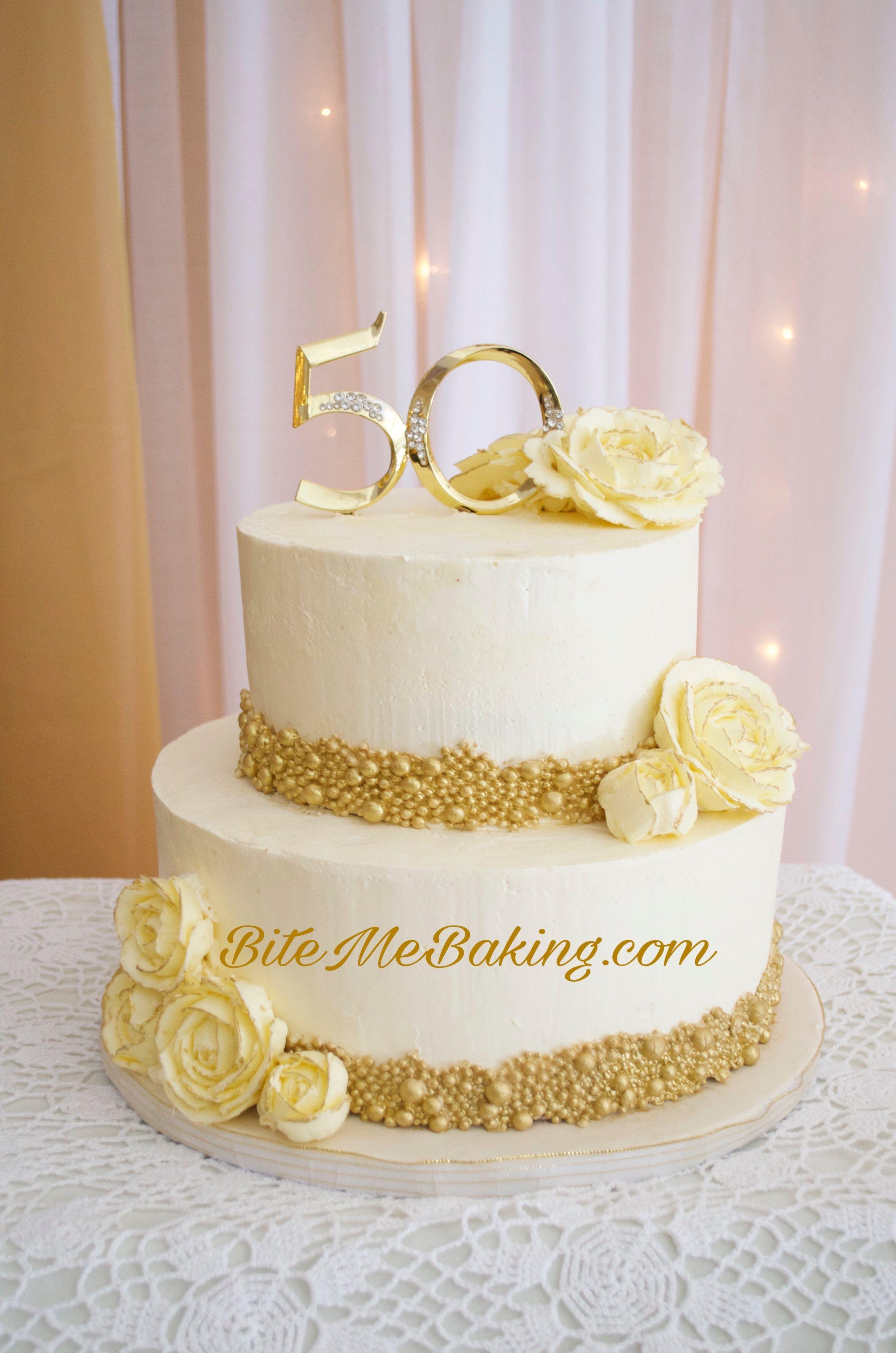 50th Anniversary Cakes, Wedding