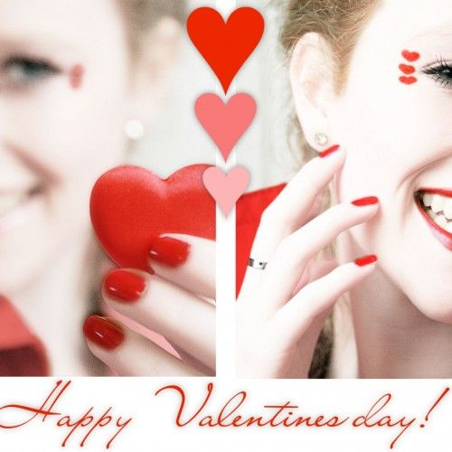 Makeup Red and also Valentine Valentines with Velvet Lipstik for Polist Red and Day Ideas as well as Nail Gift