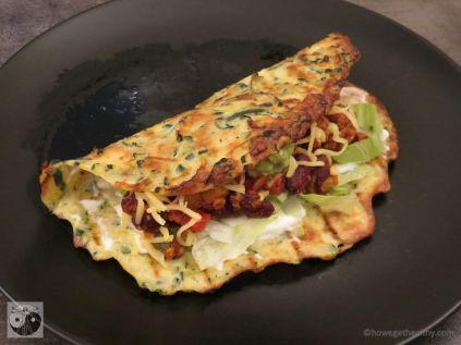 Low Carb Burritos - howegethealthy.com