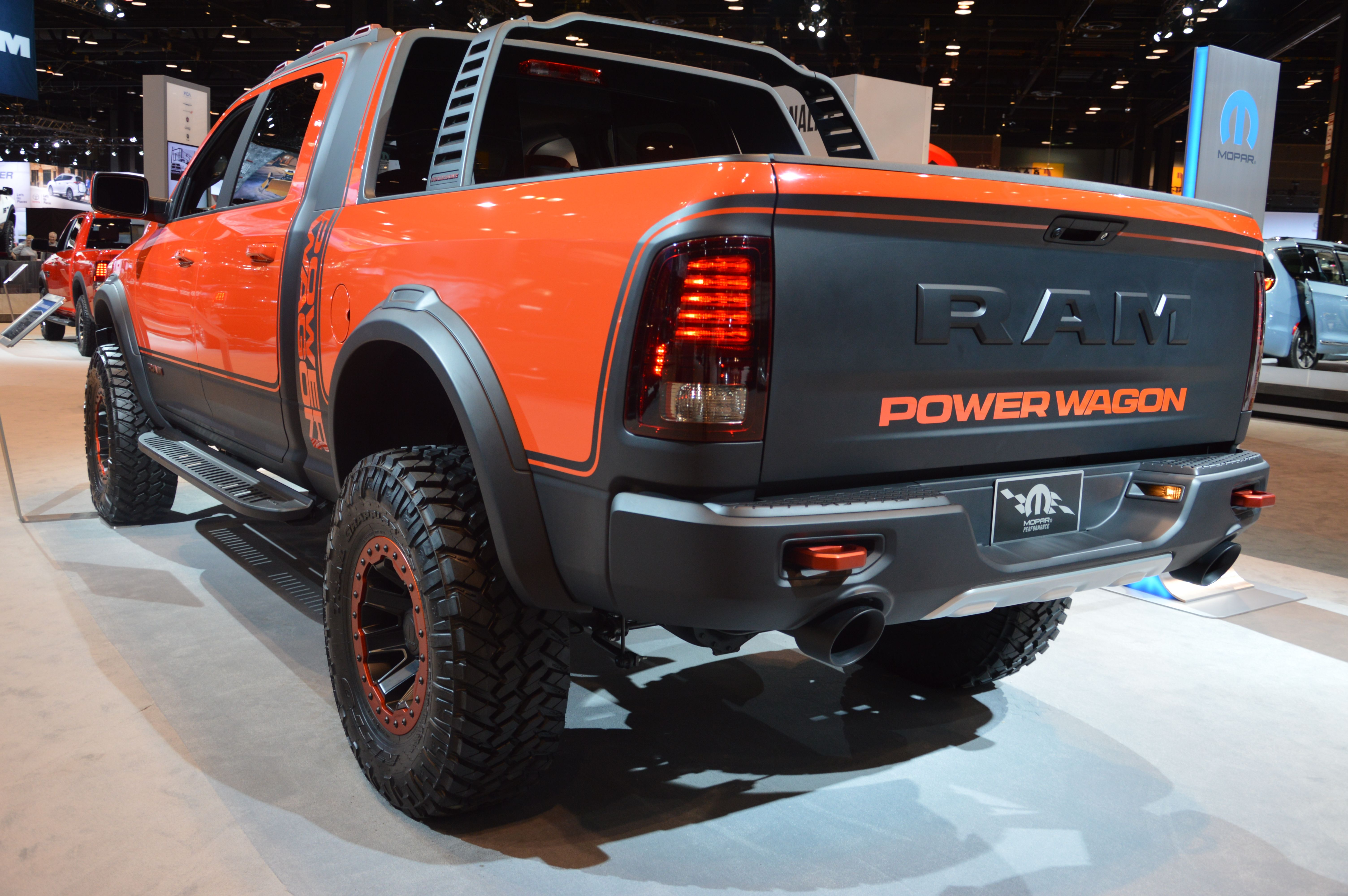 Fields Chrysler Jeep Dodge Ram Is Proud To Participate In The Chicago Auto  Show 2017. From #Ram, We Have The All New 2017 Ram 2500 Power Wagon.