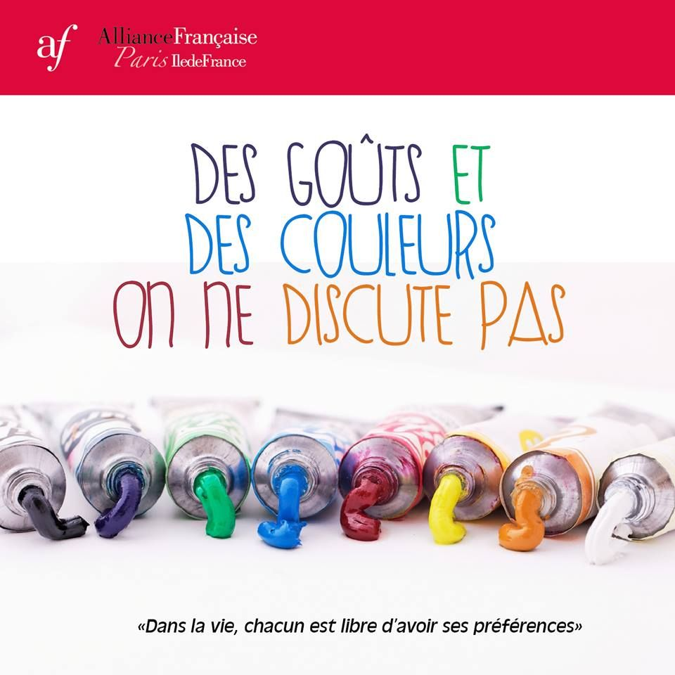 a chacun ses gouts dissertation Première marque française de yogurt glacé artisanal, chacun ses goûts  offre au plus grand nombre un instant gourmand de plaisir sur mesure,.