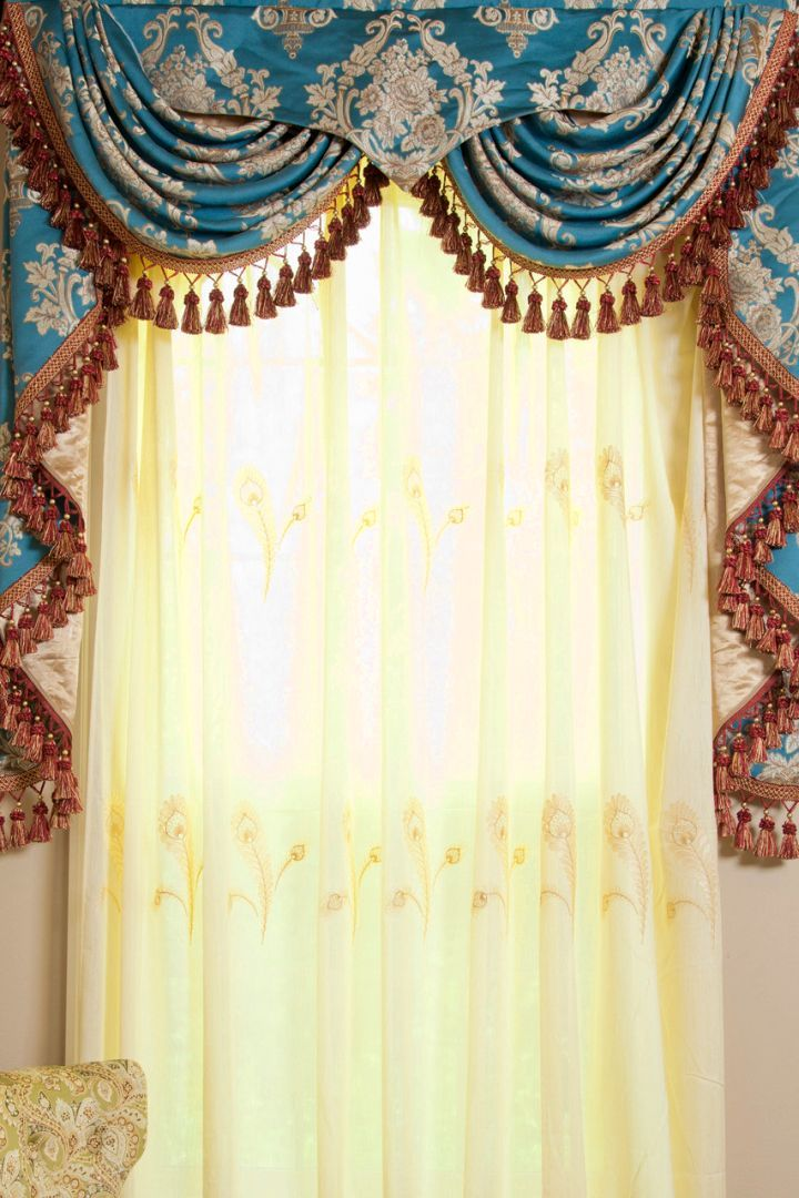 check out these 20 beautiful swag valance patterns to sweeten your