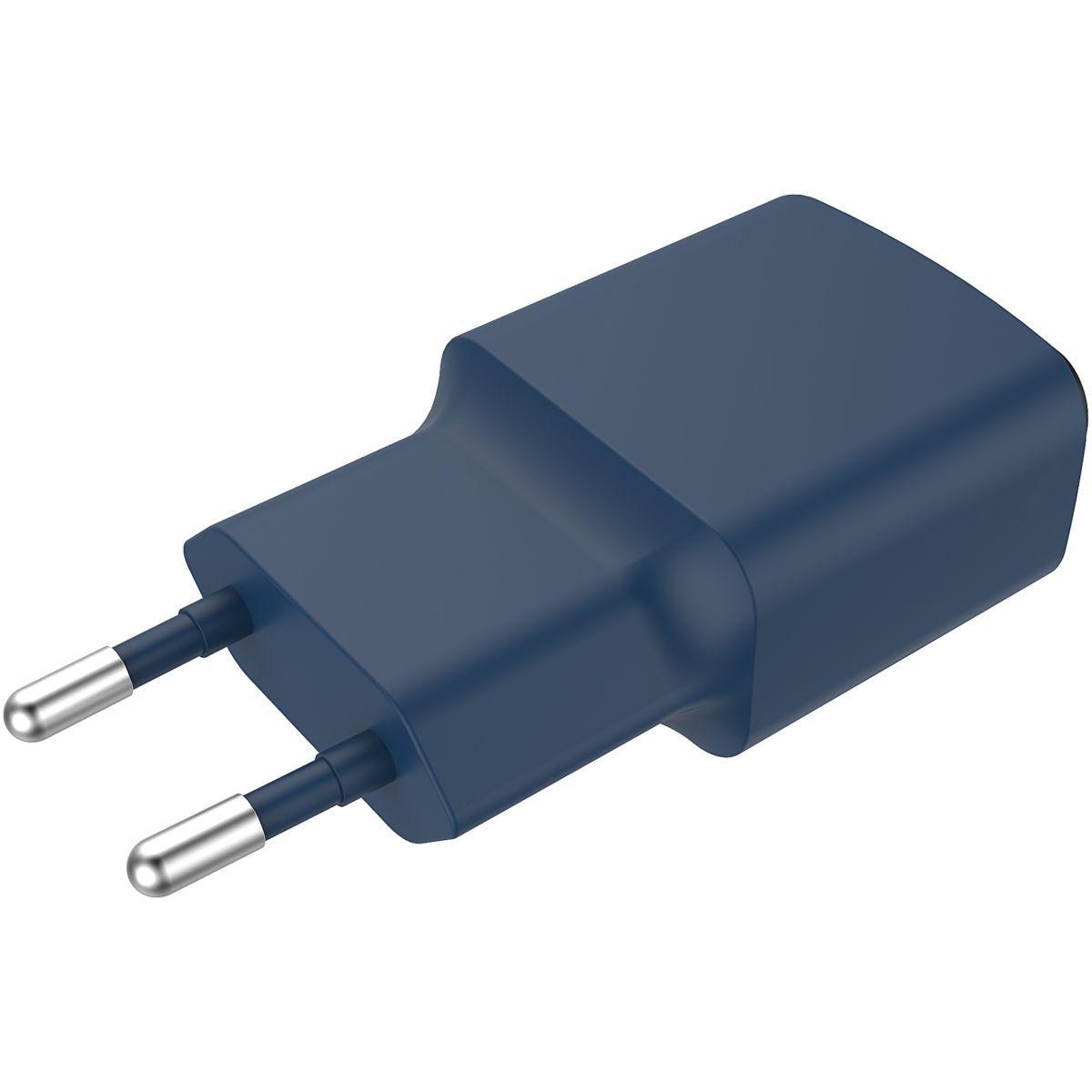 Essentielb USB 2,4A + Cable Micro USB noir Chargeur