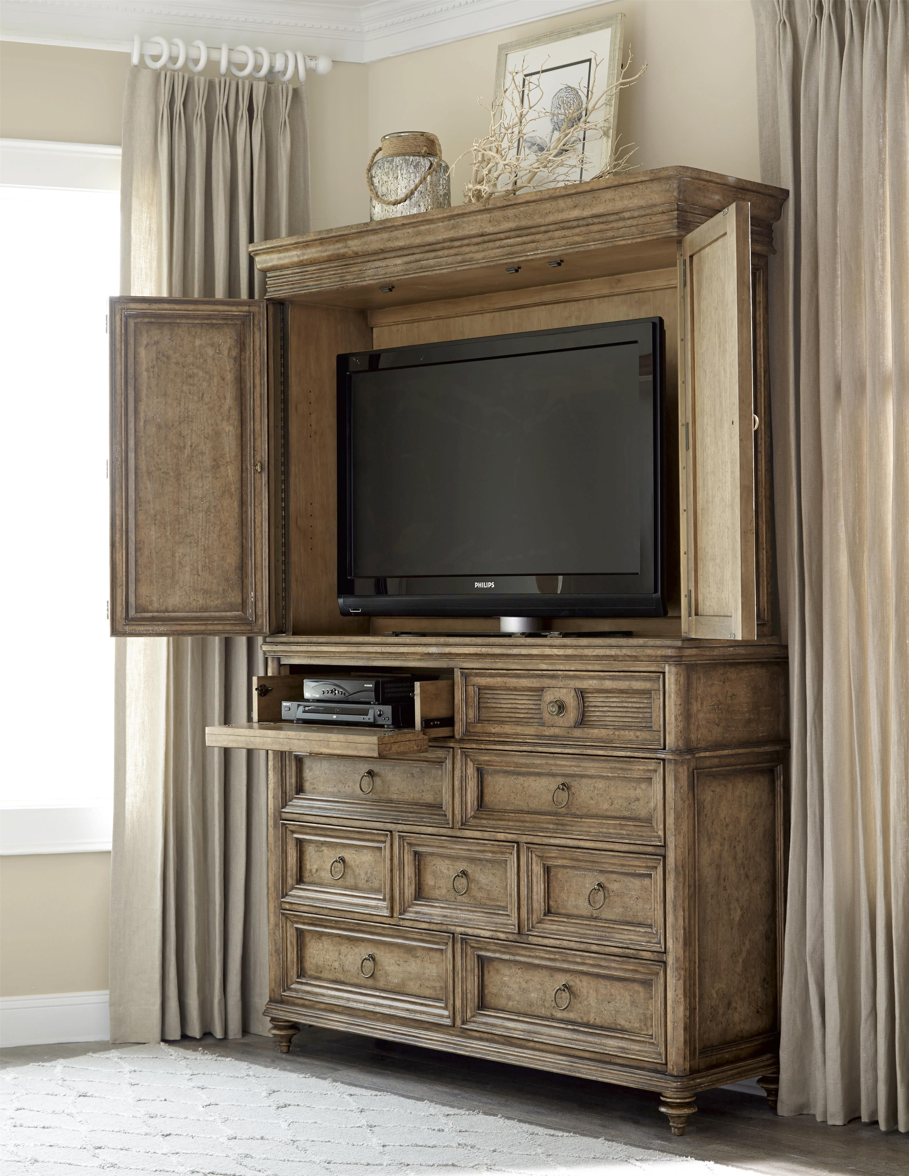 This Grand Armoire Offers Great Style And Function To A
