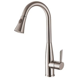 Pfister Pfirst Series Pull Down Brushed Nickel Kitchen Faucet | Overstock.com  Shopping