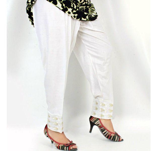 7d9d33d5b1 White Capri Pants – Plus Size Clothing in Pakistan | Plus Size Women ...