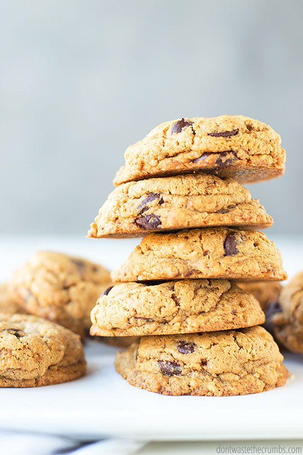 Healthy Chocolate Chip Cookies | Recipe | Healthy ...