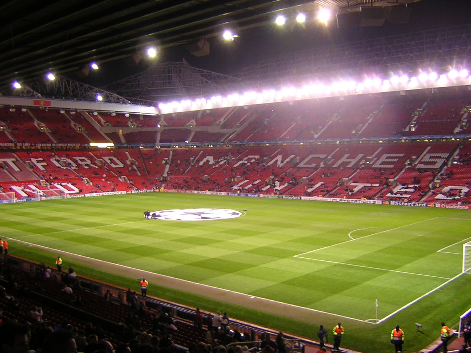 Theater Of Dreams Old Trafford Manchester United Stadium Manchester United