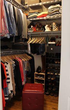 Small Square Closet Design