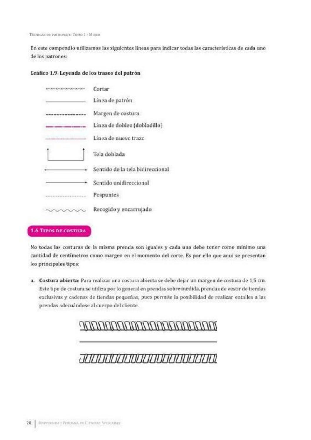 004 tecnicas de patronaje mujer pdf   costuras   Pinterest   Costura ...