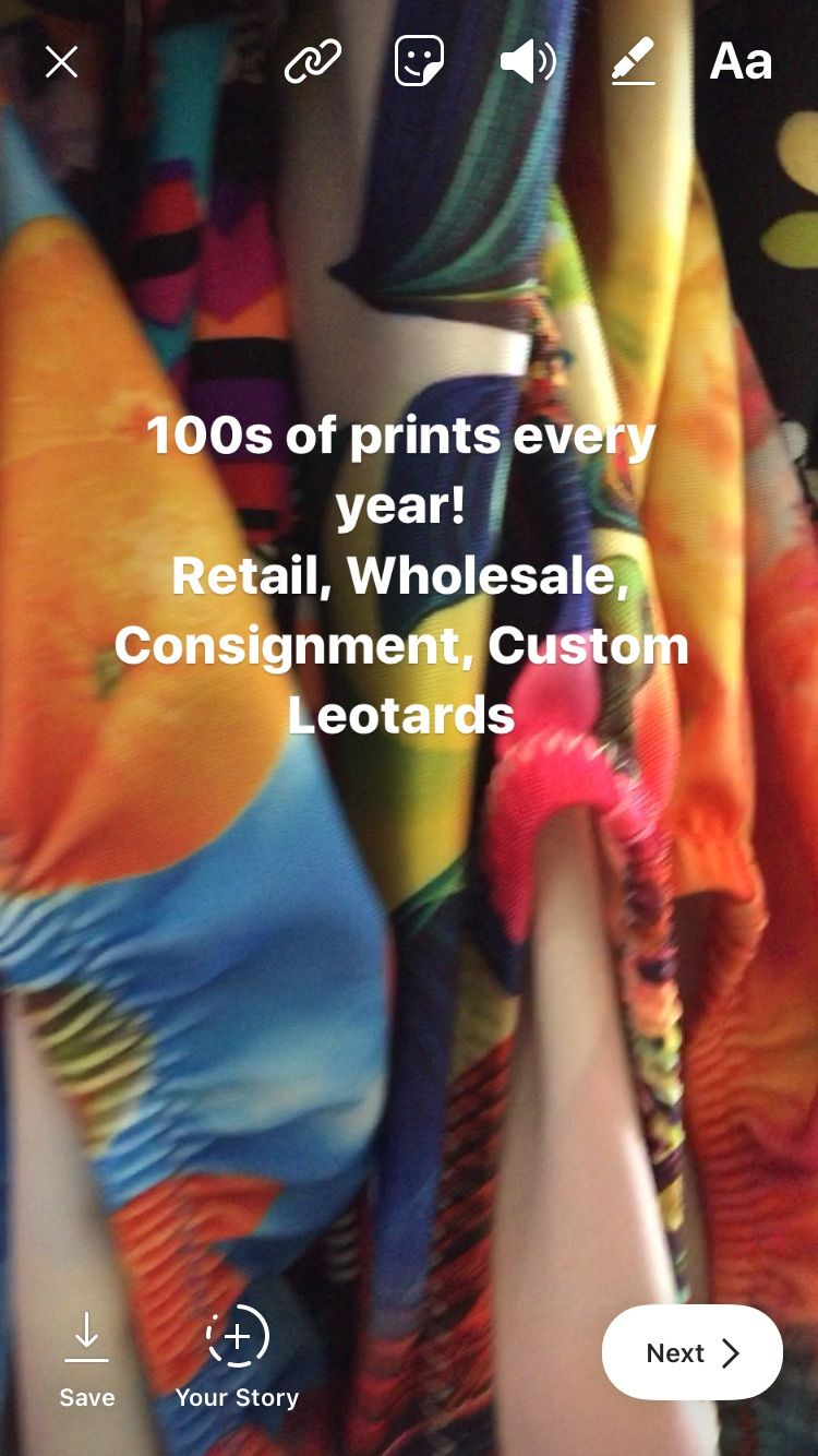 Foxy's Leotards has been in business for over 30 years