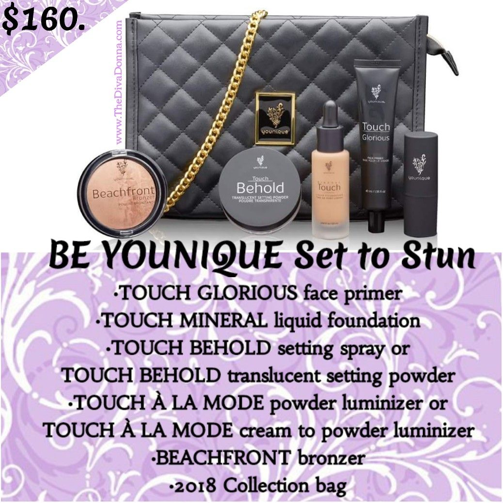 Be Younique Set To Stun Touch Glorious 174 Face Primer Touch