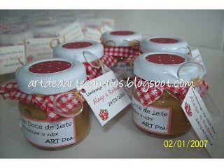 ART Dea: Lembrancinha de chá bar ou chá de bebê http://www.artdeaartesanatos.blogspot.com.br/