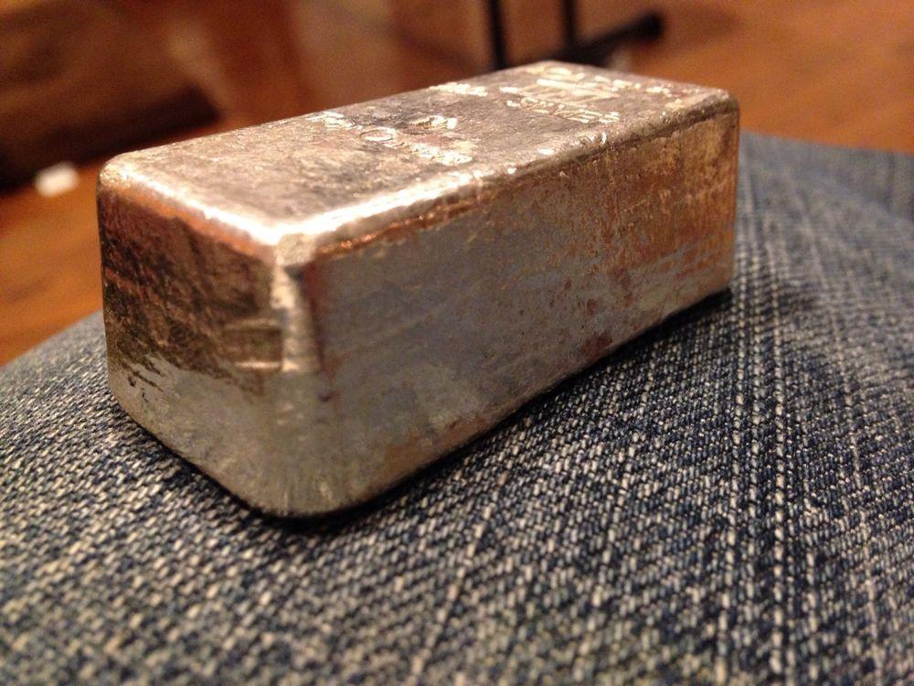 Vintage Poured Loaf Style Academy 10 Troy Ounces 999 Fine Silver Bullion Bar Silver Bullion Gold Bullion Bars Silver Investing