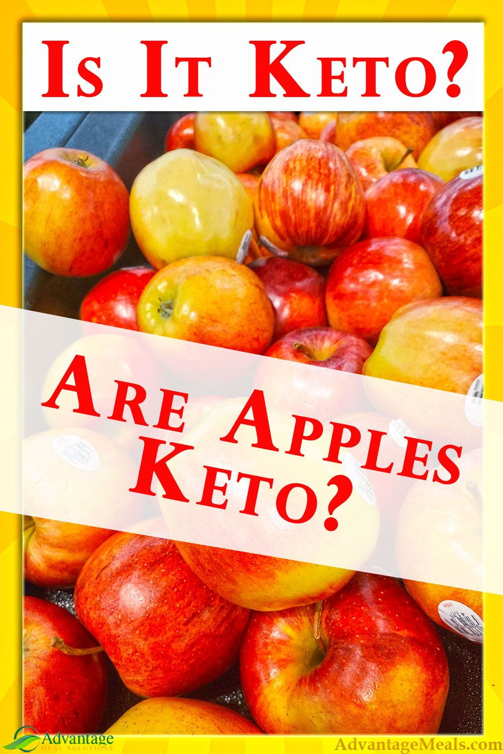 are apples on the keto diet
