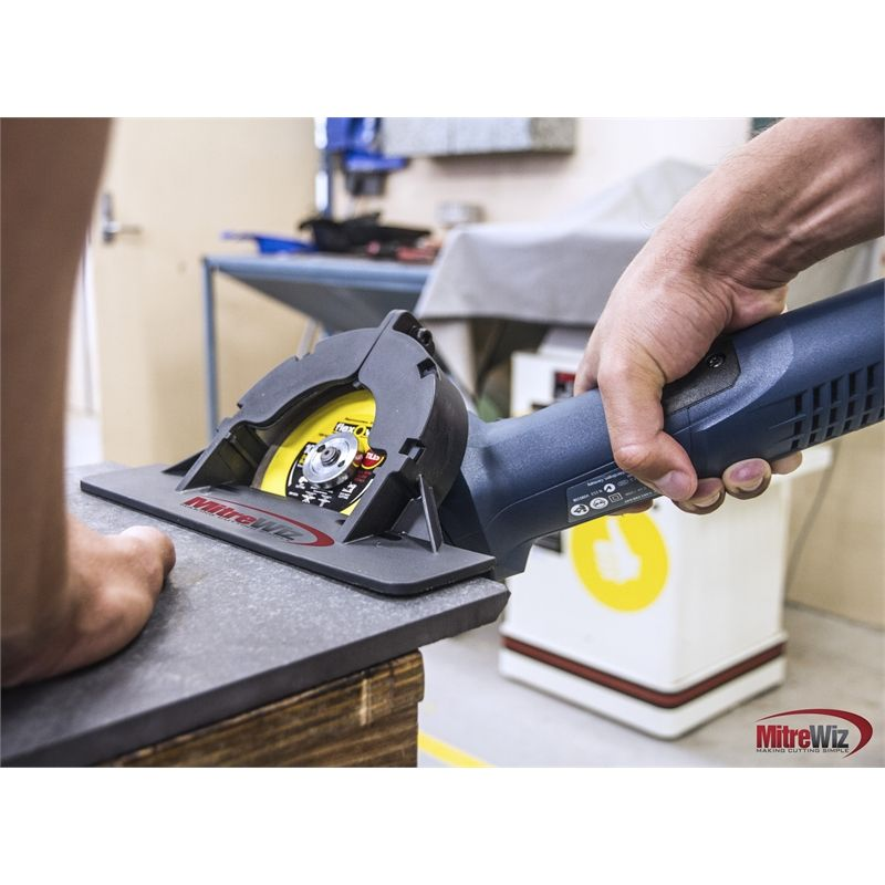 Find Qep Tiling Tools Mitre Wiz For Angle Grinders At Bunnings Warehouse Visit Your Local Store For The Widest Range Tiling Tools Tile Tools Construction Diy
