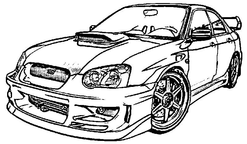 Sport Car Coloring Page In 2020 Cars Coloring Pages Race Car Coloring Pages Sports Coloring Pages