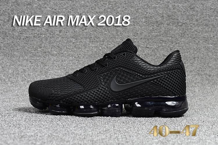 Nike 2019 KPU AIR MAX Sports Shoes Men Black Grey 40 47
