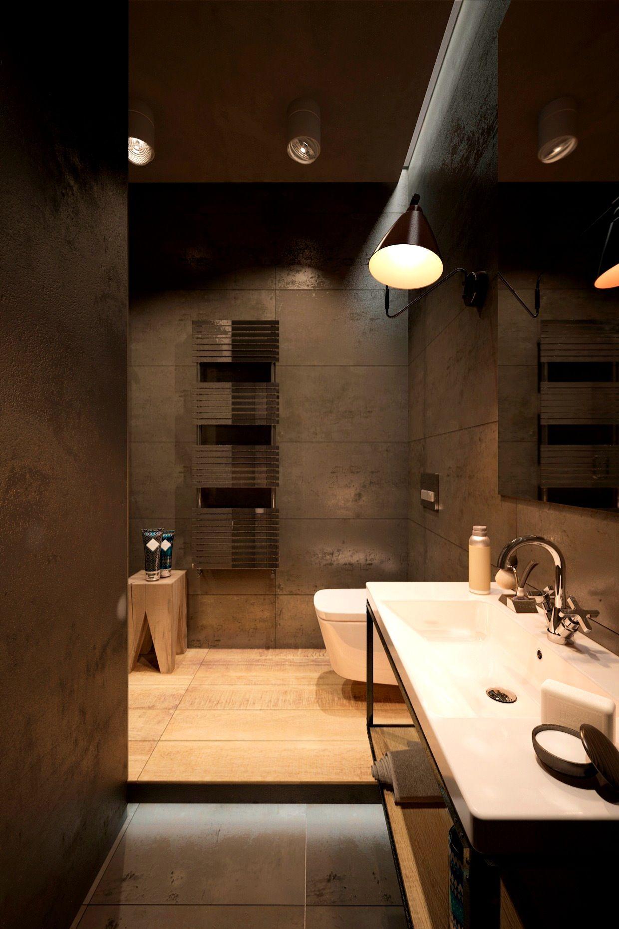 Accessoriesendearing Concrete Bathroom Design Interior Ideas Industrial Fixtures Desi Industrial Bathroom Decor Concrete Bathroom Design Industrial Home Design