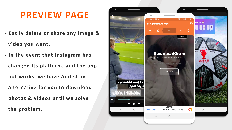 Instagram Downloader - Videos, Photos, Stories, Reels, ITGV - All In One Instagram Downloader App - 6