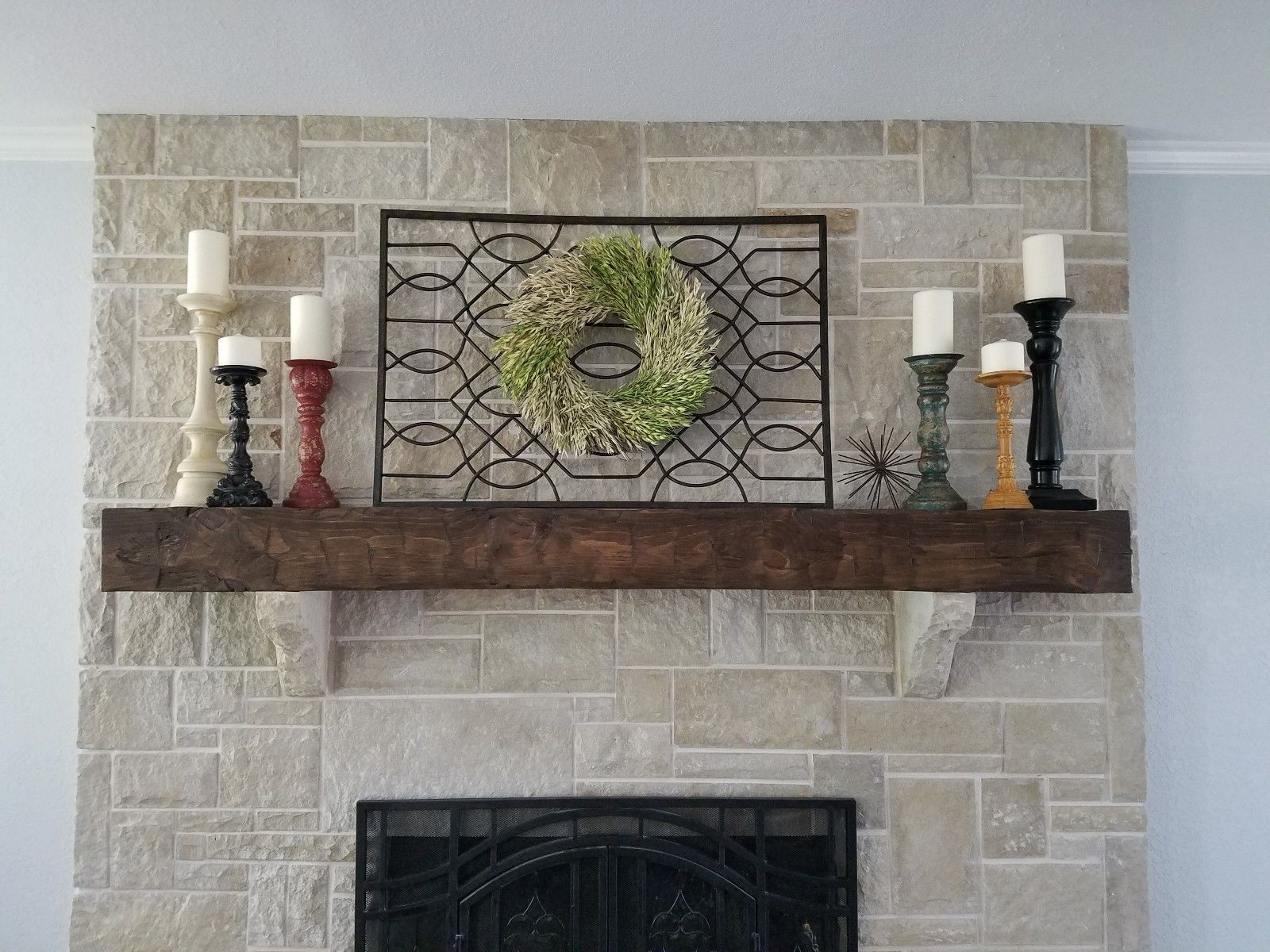 6 Ft Fireplace Mantel New 6 Foot Hand Hewn Rustic Barn Beam Style Fireplace Mantel In