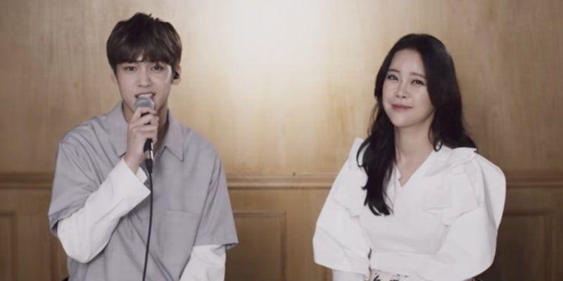 Watch Myteen S Song Yu Bin And Baek Ji Young Reunite To Sing