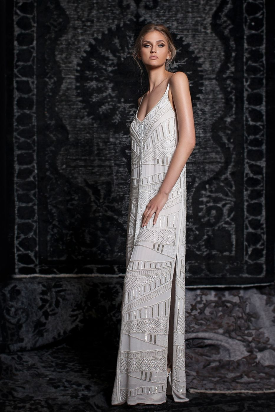 Most popular boho wedding dress wedding gowns yaniv persy