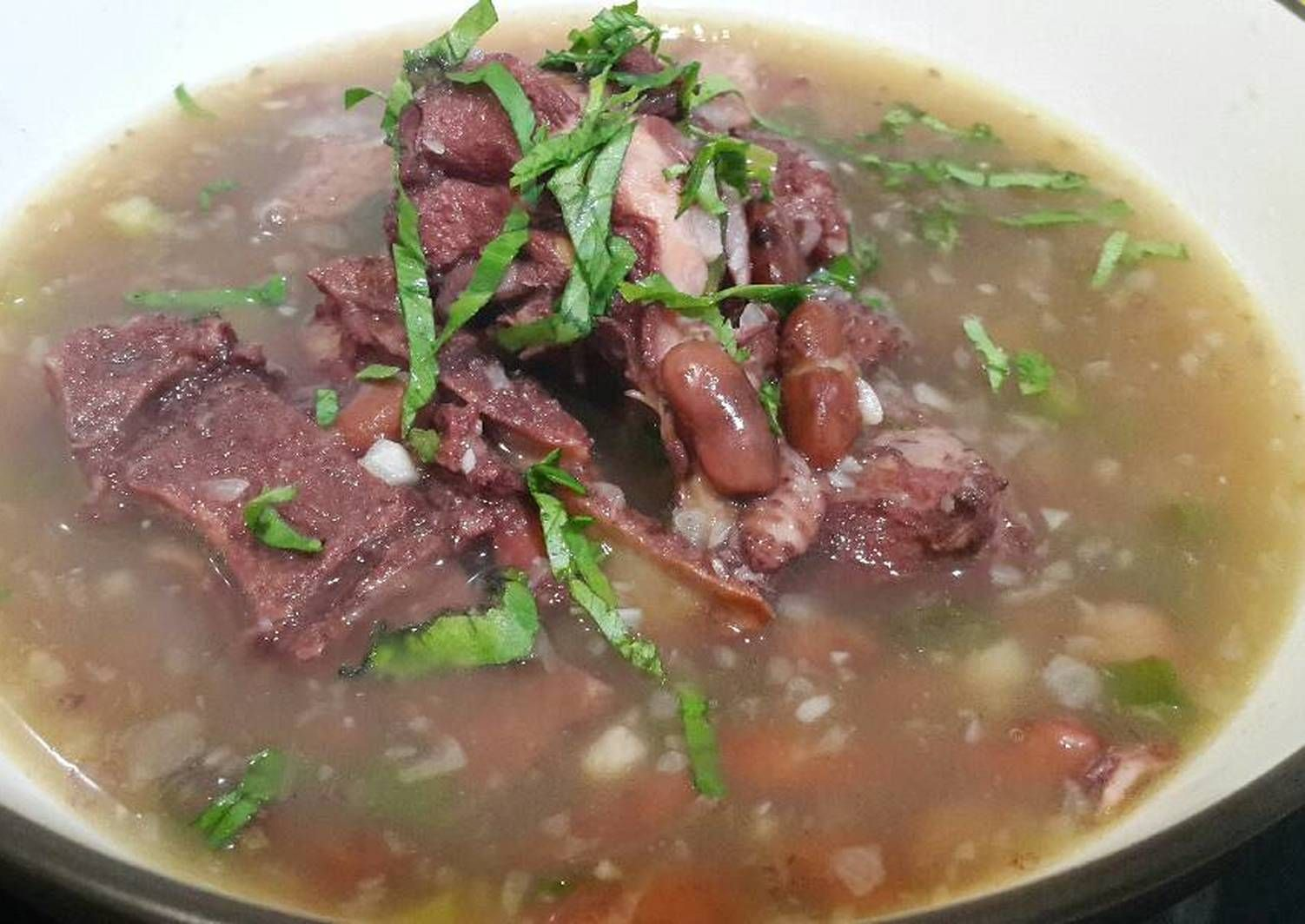 Resep Sup Kacang Merah Manado Brenebon Oleh Ells Cooking Resep Resep Sup Resep Masakan Indonesia Sup Kacang