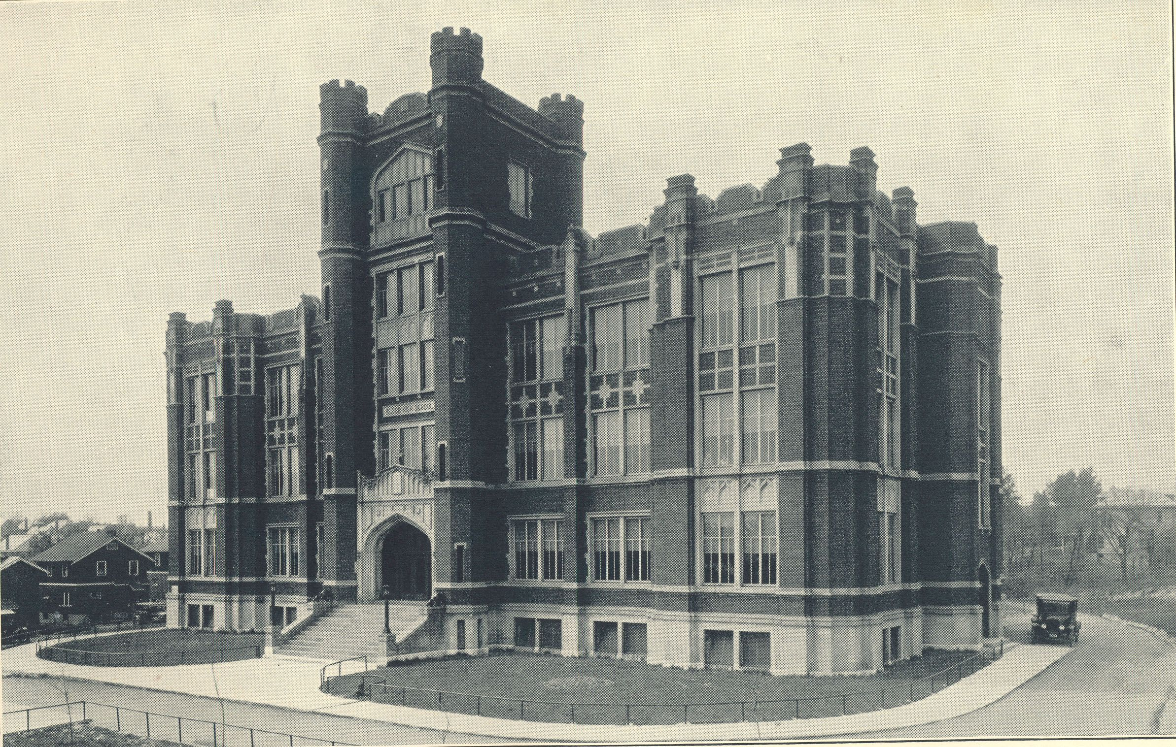Elder High School 1922 Senior Pictures Downtown Cincinnati Ohio High School