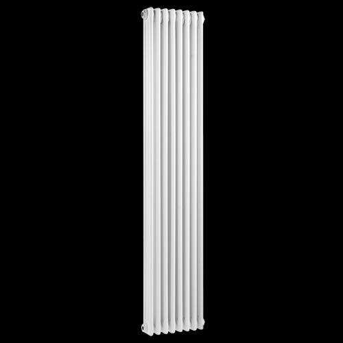 Klassiek Design Kolom Radiator 1800mm x 381mm - 1935Watt - Wit - Image 1