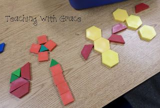 """""""What pictures can you make with only 5 shapes?"""" Teaching with Grace: Number Sense!"""