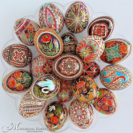 Boho Easter Eggs Decor Ideas Ukrainian Easter Eggs Egg Art