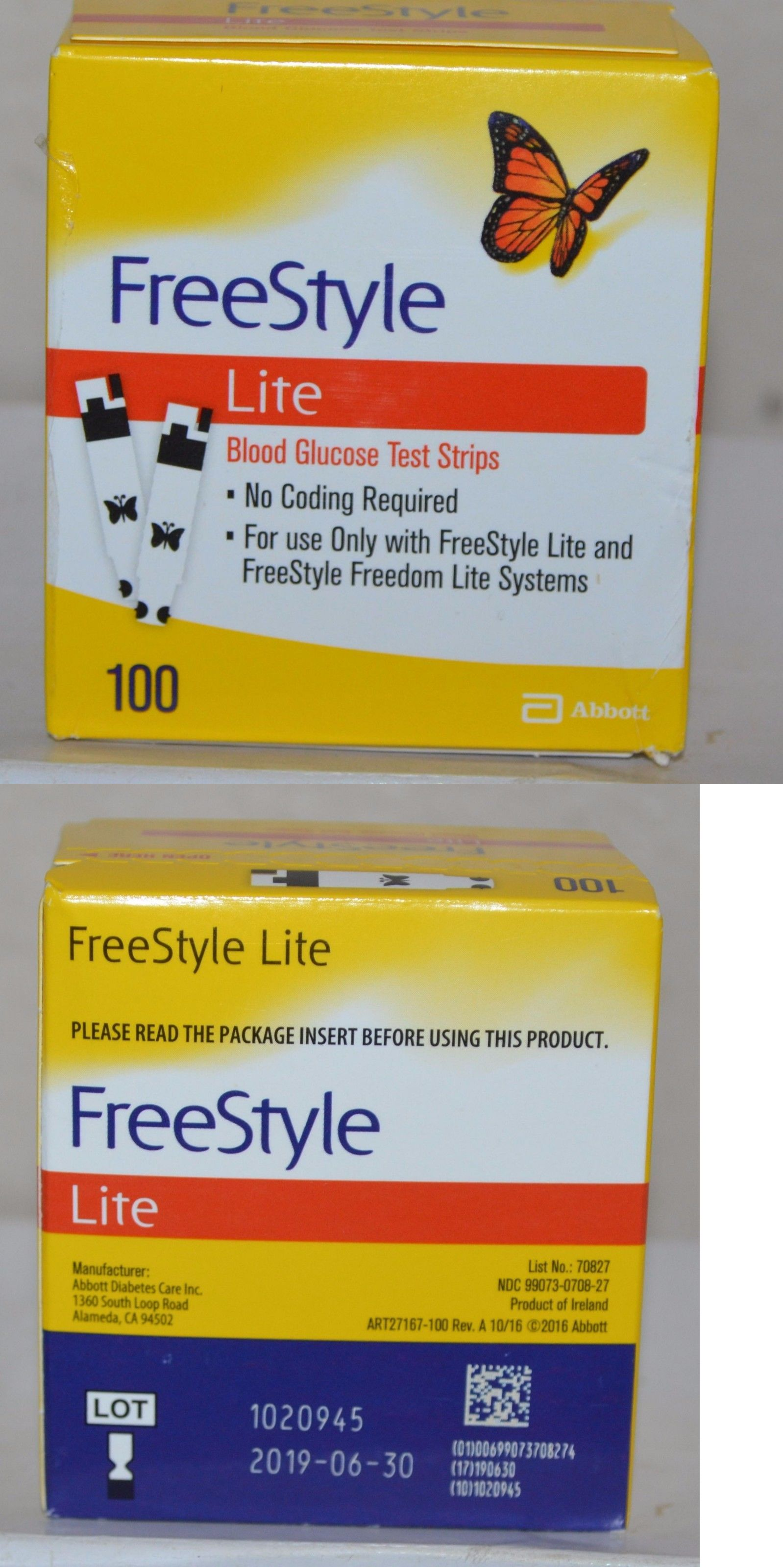 Glucose monitors freestyle lite diabetic test strips 100ct retail 6 glucose monitors freestyle lite diabetic test strips 100ct retail 6 30 2019 dinged aloadofball Image collections
