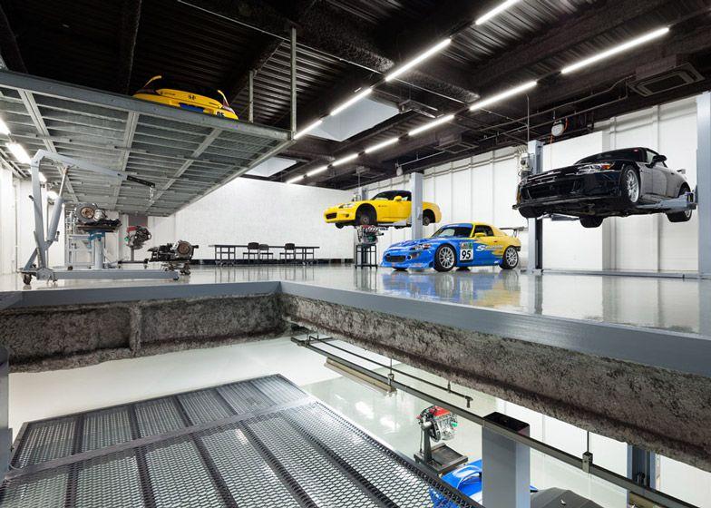 Type One a Garage/Showroon in Japan Monteur, Garage