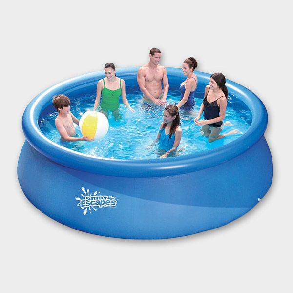 Quick-Up-Pool PRONTO 366 x 91 cm